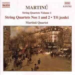 Martinu - String Quartets Vol. 1 Product Image