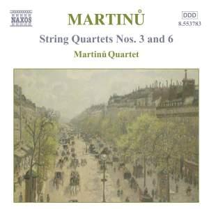 Martinu - String Quartets Vol. 2 Product Image