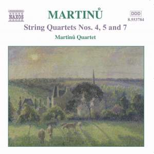 Martinu - String Quartets Vol. 3