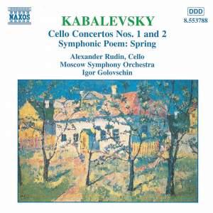 Kabalevsky: Cello Concertos Nos. 1 & 2