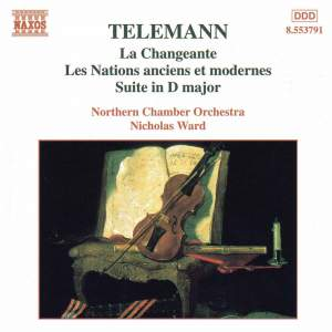 Telemann: Overtures TWV55 Product Image