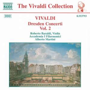 Vivaldi: Dresden Concertos, Vol. 2