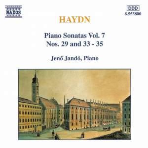 Haydn - Piano Sonatas Volume 7 Product Image