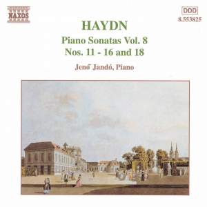 Haydn - Piano Sonatas Volume 8 Product Image