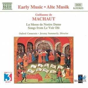 Machaut: Messe de Nostre Dame & Songs from Le Voir Dit Product Image