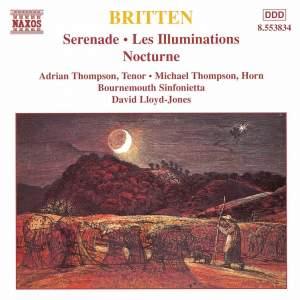 Britten: Serenade, Les Illuminations, Nocturne Product Image