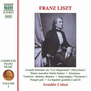Liszt: Complete Piano Music Volume 1
