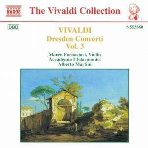 Vivaldi: Dresden Concertos, Vol. 3