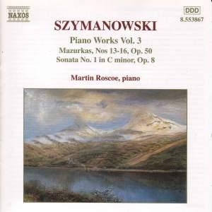 Szymanowski: Piano Works, Vol. 3 Product Image