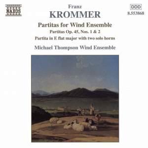 Krommer: Partitas for Wind Ensemble Product Image