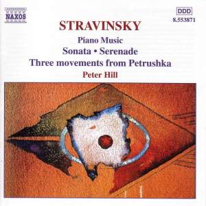 Stravinsky: Piano Music Product Image