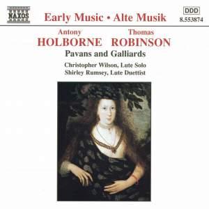 Holborne/Robinson: Pavans and Galliards
