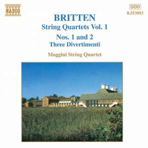 Britten: String Quartets, Vol. 1