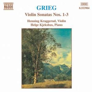 Grieg: Violin Sonatas Nos. 1-3 Product Image