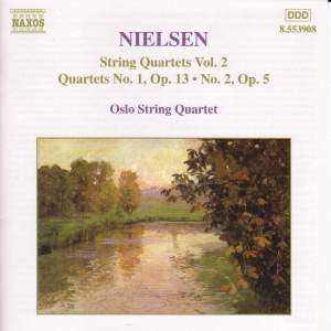 Nielsen: String Quartets, Vol. 2