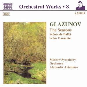 Glazunov - Orchestral Works Volume 8 Product Image