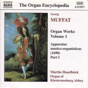 Muffat: Organ Works, Vol. 1