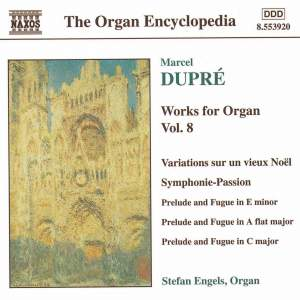 Dupre: Works For Organ, Vol. 8 Product Image