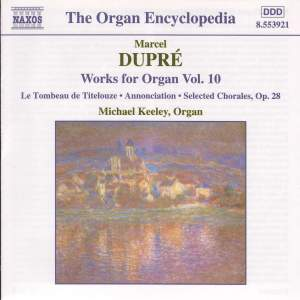 Dupre: Works For Organ, Vol. 10 Product Image