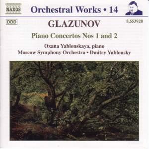 Glazunov - Orchestral Works Volume 14 Product Image