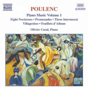 Poulenc: Piano Music, Vol. 1 Product Image