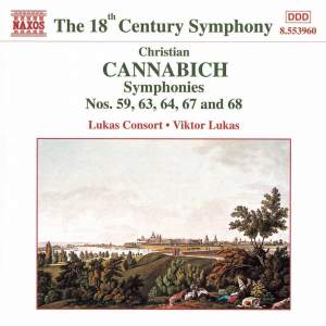 Johann Cannabich: Symphonies Nos. 63, 67, 64, 59 and 68