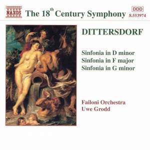 Dittersdorf: Sinfonias Product Image