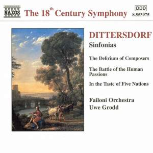 Dittersdorf: Three Descriptive Sinfonias