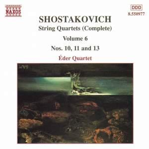 Shostakovich: String Quartet No. 10 in A flat major, Op. 118, etc. Product Image