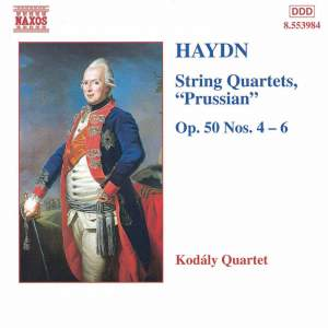 Haydn: String Quartet, Op. 50 No. 4 in F sharp minor, etc. Product Image