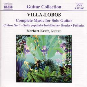 Villa-Lobos: Complete Music for Solo Guitar Product Image