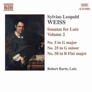 Weiss: Lute Sonatas Volume 2 Product Image