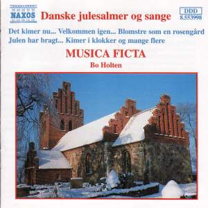 CHRISTMAS Danske Julesalmer og Sange, Vol. 1 (Danish Christmas Hymns, Vol. 1) (Musica Ficta, Holten)