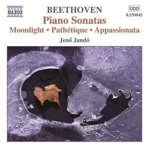 Beethoven: Piano Sonatas Nos. 8, 14 & 23 Product Image