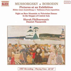 Mussorgsky: Pictures at an Exhibition & Borodin: Polovtsian Dances Product Image