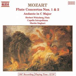 Mozart: Flute Concertos Nos. 1 and 2 / Andante, K. 315 Product Image