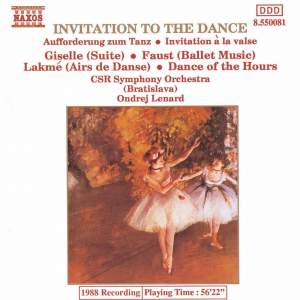 Invitation to the Dance Product Image