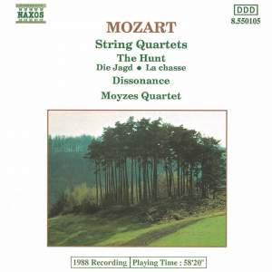 Mozart: Hunt and Dissonance Quartets Product Image