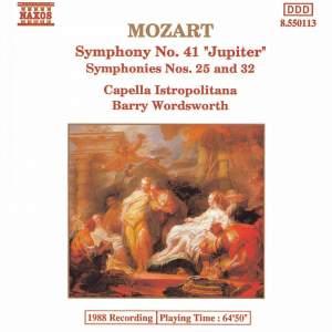 Mozart: Symphony No. 41 in C major, K551 'Jupiter', etc. Product Image