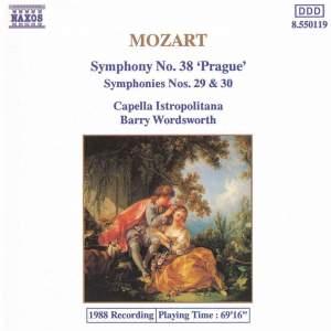 Mozart: Symphonies Nos. 29, 30 & 38