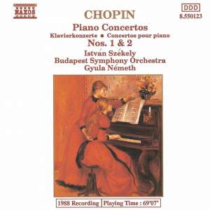 Chopin: Piano Concerto No. 1 in E minor, Op. 11, etc. Product Image