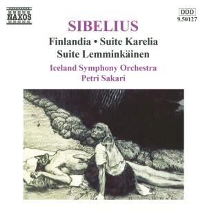 Sibelius: Finlandia, Suite Karelia & Suite Lemminkäinen