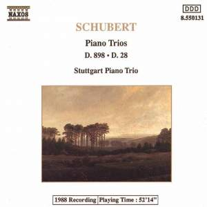 Schubert: Piano Trio No. 1 & Movement for piano trio Product Image
