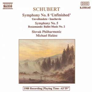Schubert: Symphonies Nos. 5 & 8 and Rosamunde Ballet Music No. 2 Product Image
