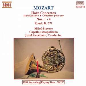 Mozart: Horn Concertos 1-4 Product Image
