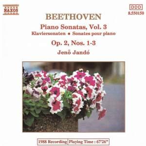 Beethoven: Piano Sonata No. 1 in F minor, Op. 2 No. 1, etc. Product Image