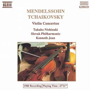 Mendelssohn & Tchaikovsky: Violin Concertos Product Image