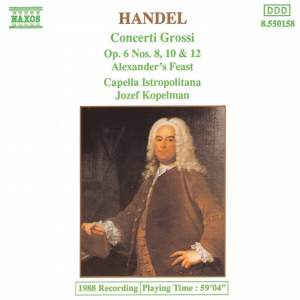 Handel: Selected Concerto Grossi Product Image