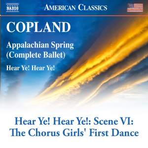 Hear Ye! Hear Ye!: Scene 6, The Chorus Girls' First Dance
