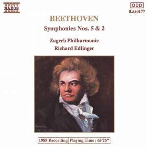 Beethoven: Symphonies Nos. 5 and 2